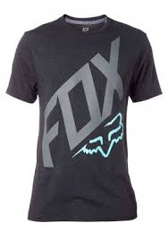 FOX póló closed circuit ss tech tee HTR BLK