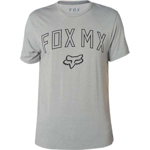 Fox póló Dirt Mix HTR DRK GRY
