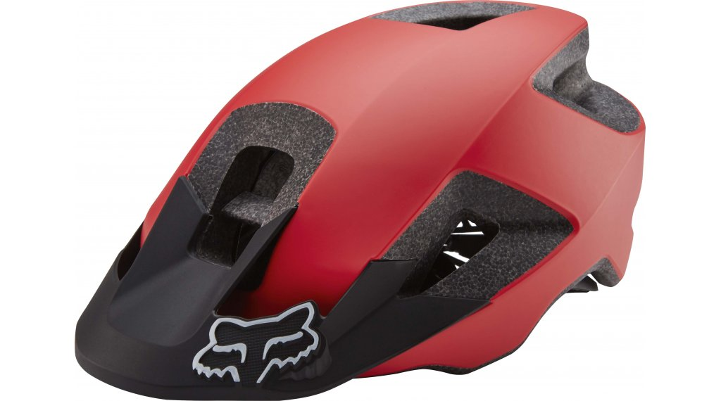 Fox Mtb sisak Női red blk