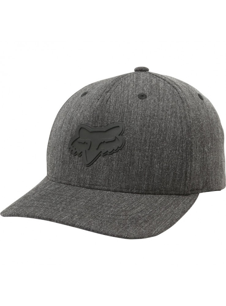 Fox sapka Snapback Heads up 110 HTR BLK
