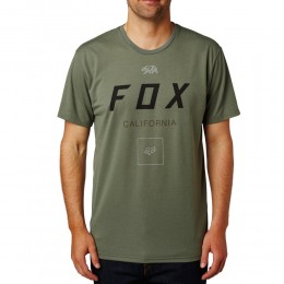 FOX Growled SS Tech  Tee  póló DRK FAT