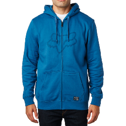 Fox pulóver district 3  fleece dst blu