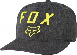 FOX Number 2 Flexfit Sapka BLK