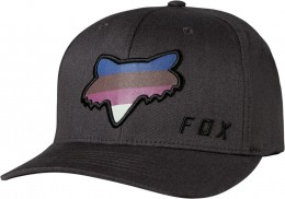 FOX Draftr Head Flexfit Sapka BLK VIN