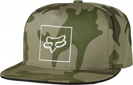 FOX Crass Snapback Sapka CAM