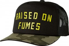FOX Raised on Fumes Snapback Sapka BLK VIN