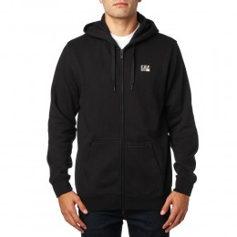 FOX  District 1 Zip pulóver BLK
