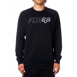 FOX Legacy Crew Fleece pulóver BLK