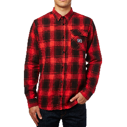 Fox Ing Voyd Flannel blk red