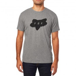 Fox póló traded ss airline tee htr drk gry