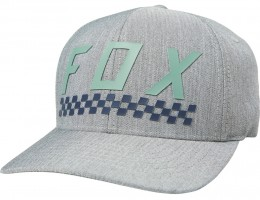 Fox sapka Check Yo Self Flexfit lt gry