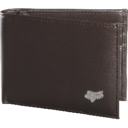 FOX pénztárca bifold leather wallet intl only Brown