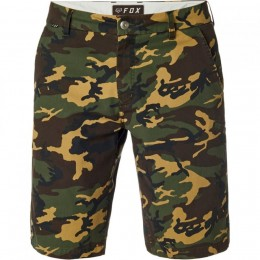 Fox short Essex camo green camo
