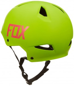 Fox sisak Flight Hardshell yellow