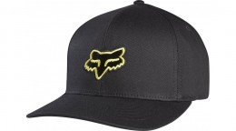 Fox sapka legacy flexfit hat blk yellow