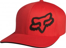 FOX  signature flexfit hat  sapka Red