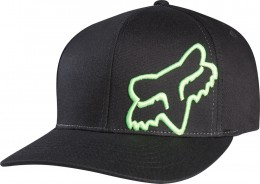 FOX  flex 45 flexfit hat  sapka BLK/GRN