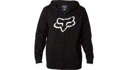 Fox pulóver foxhead zipp fleece blk
