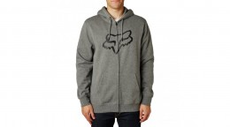 Fox pulóver foxhead zipp fleece grafit