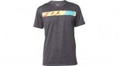 FOX póló transport race ss tee HTR BLK