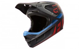 Fox sisak Mtb Rampage pro Carbon Seca Mips blk grey red