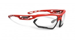 FOTONYK FIRE RED-BLACK BUMPERS/IMPACTX2 PHOTOCHROMIC BLACK BL