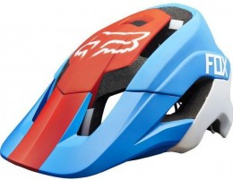 Fox sisak Mtb Metah red blue