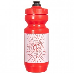 FOX WATER BOTTLE PURIST CONNECTOR red