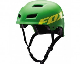 Fox Mtb sisak Transition Hard Shell green