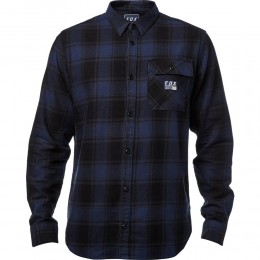 Fox Ing Voyd Flannel blk blue
