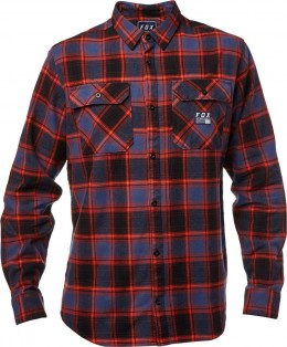 Fox ing traildust flannel MDNGHT