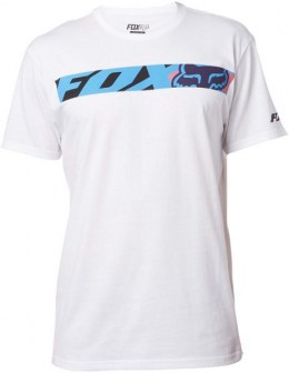 FOX póló transport race ss tee OPT WHT