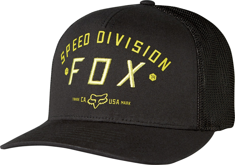 FOX Speed Division Flexfit Sapka BLK