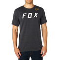FOX póló Grizzled SS Tech Tee htr blk