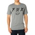 FOX póló Scrubbed SS Airline Tee htr drk gry