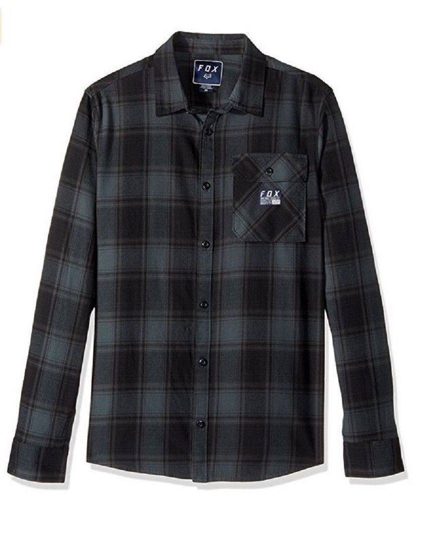 FOX ing Voyd Flannel dark green