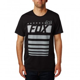 FOX White & True SS Tech Tee póló BLK