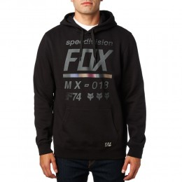 FOX pulóver District 2 Fleece BLK