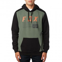 FOX pulóver District 3 Fleece DRK FTG