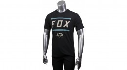 FOX póló Listless Airline blk grey