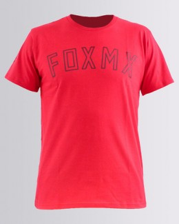 FOX póló Direct Curent SS Tech Tee drk red