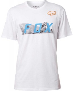 FOX Ghostburn SS Tee opt wht